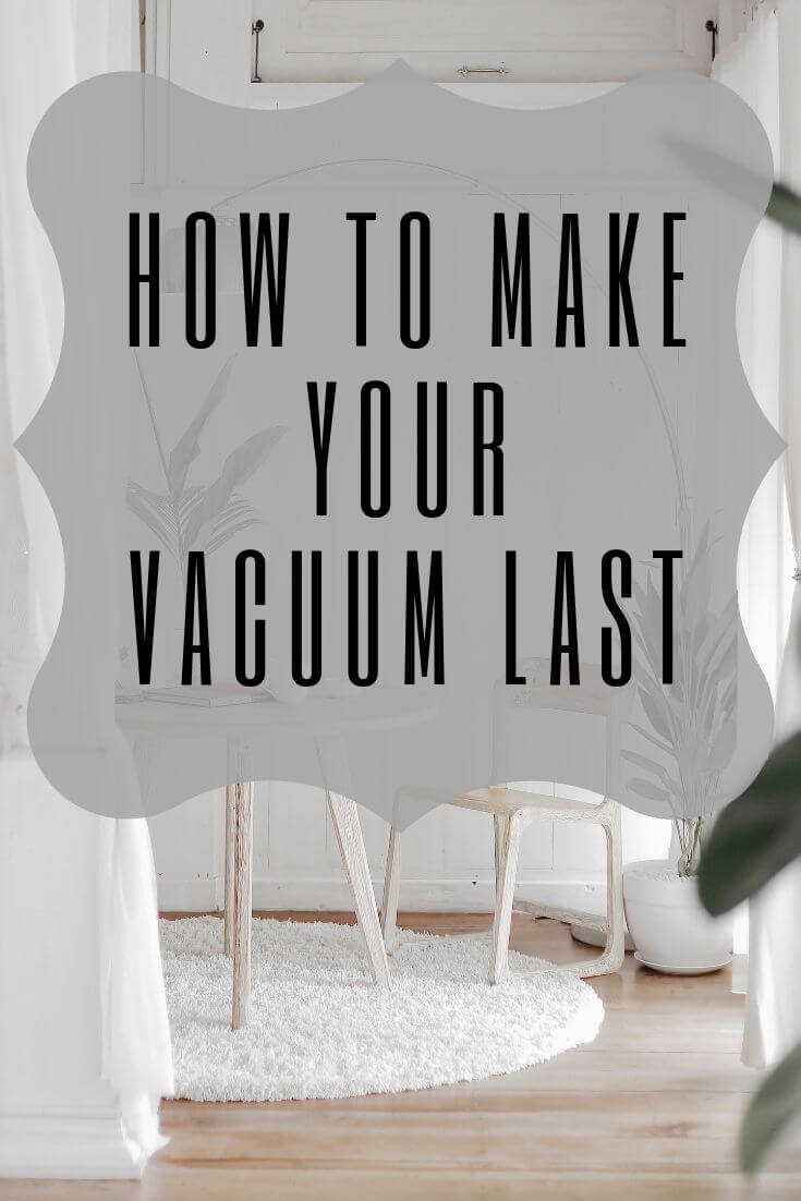 vacuuming tips graphic