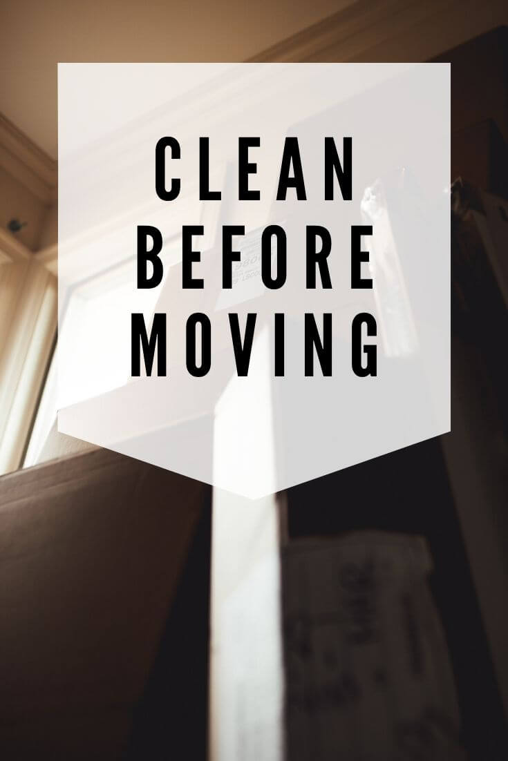 carpet cleaning before moving