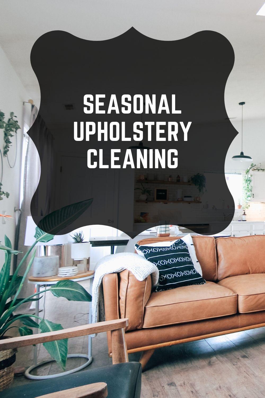 seasonal cleaning